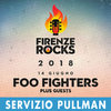 FOO FIGHTERS Firenze 14/06/2018